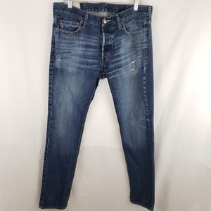 Hollister Distressed Men's Jeans Size W34 × L32